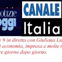 Maurizio Ebano in diretta su canale Italia