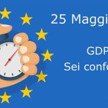 GDPR: Regolamento generale sulla protezione dei dati
