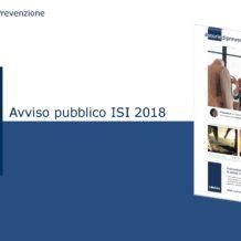 INAIL: avviso pubblico ISI 2018