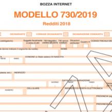 Modello 730/2019: bozza e istruzioni