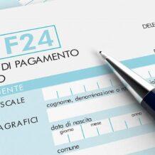 Utilizzo F24 anche per le somme da registrazione di atti pubblici e di scritture private autenticate